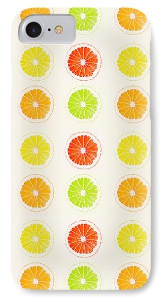 Juicy Citrus IPhone Case by Little Bunny Sunshine