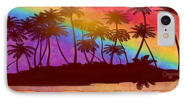 Cancun Palm Trees Gin Leadership Retreat 2016 IPhone Case
