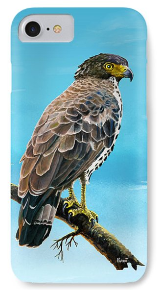 Congo Serpent Eagle IPhone Case