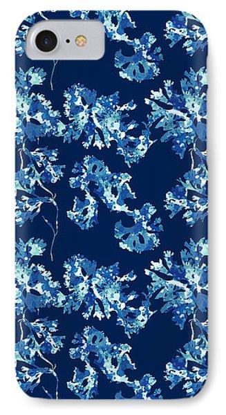 Abstract Seaweed Art Rhodomenia Laciniata IPhone Case by Christina Rollo
