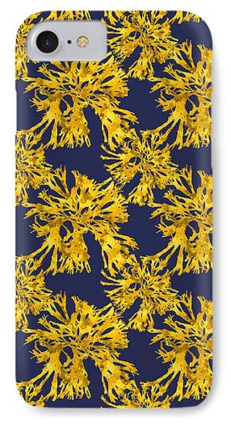 Ocean Seaweed Plant Art Rhodomenia Sobolifera Square IPhone Case by Christina Rollo