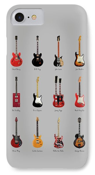 Guitar Icons No1 IPhone 7 Case by Mark Rogan
