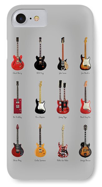 Guitar Icons No1 IPhone Case by Mark Rogan