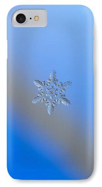 Snowflake Photo - Heart-powered Star Alternate Phone Case by Alexey Kljatov