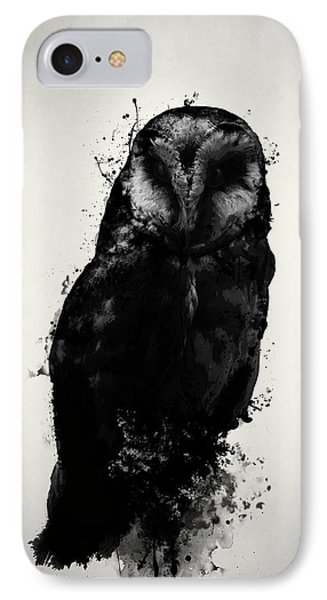 The Owl IPhone 7 Case by Nicklas Gustafsson