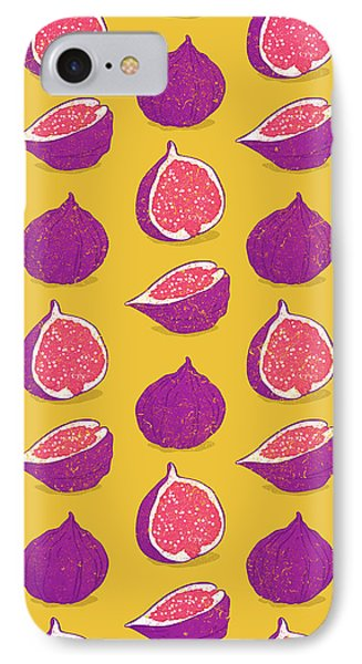 Fig IPhone Case by Evgenia Chuvardina