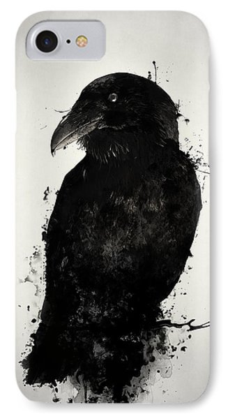 Crow iPhone 7 Case - The Raven by Nicklas Gustafsson