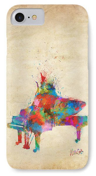 Music Strikes Fire From The Heart IPhone Case by Nikki Marie Smith