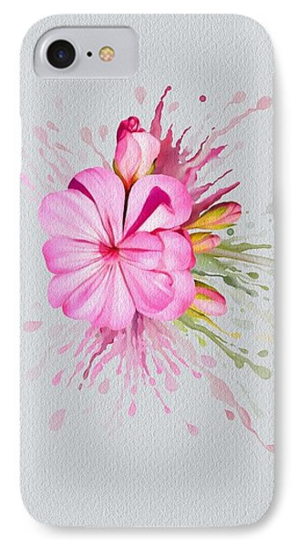 Pink Eruption IPhone Case by Ivana Westin