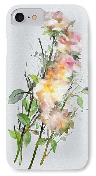 Wild Roses IPhone Case by Ivana Westin