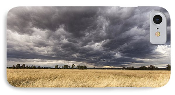 The Calm Before The Storm IPhone Case by Linda Lees