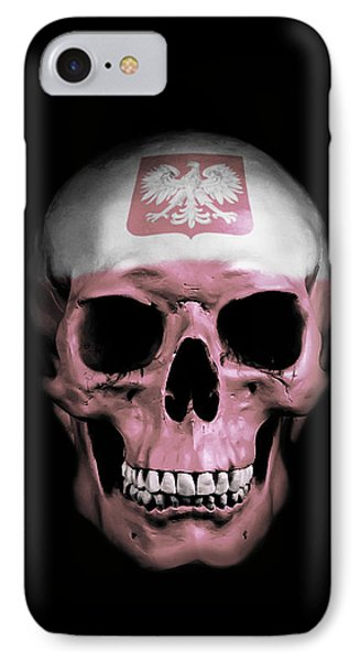 Polish Skull IPhone Case by Nicklas Gustafsson