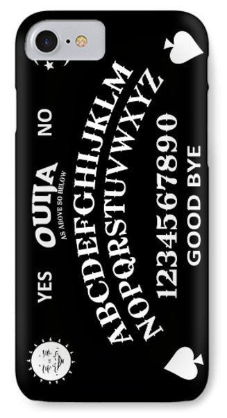 Ouija IPhone Case by Nicklas Gustafsson