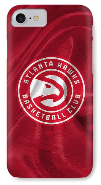 Atlanta Hawks IPhone Case by Afterdarkness