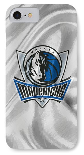 Dallas Mavericks IPhone Case by Afterdarkness