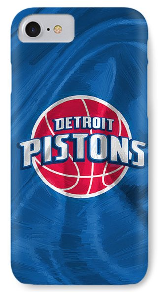 Detroit Pistons IPhone Case by Afterdarkness