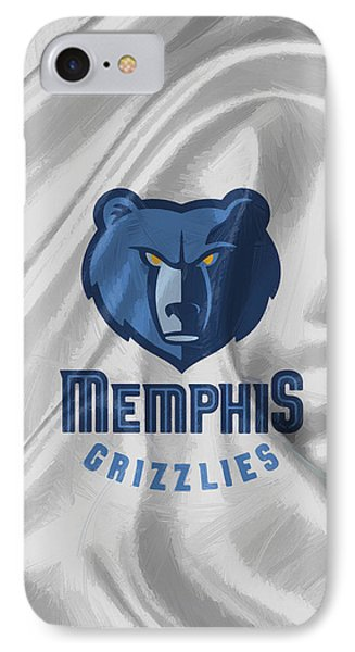 Memphis Grizzlies IPhone Case by Afterdarkness