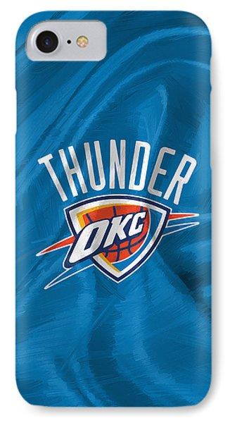 Oklahoma City Thunder IPhone Case