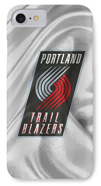 Portland Trail Blazers IPhone Case by Afterdarkness