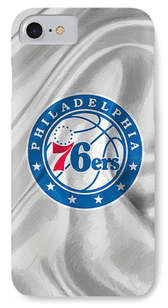 Philadelphia 76ers IPhone Case by Afterdarkness