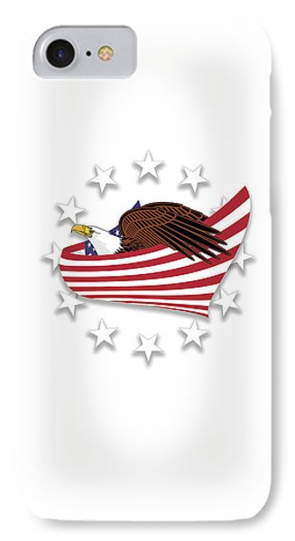 Eagle Of The Free V1 IPhone Case