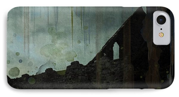 Celtic Ruins IPhone Case by Ivana Westin
