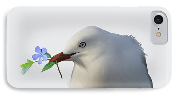 Seagull IPhone Case by Ivana Westin