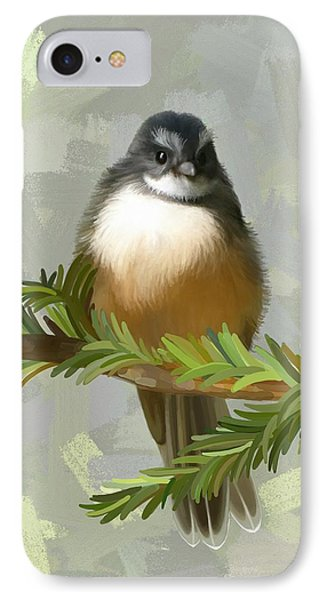 Fantail  IPhone Case by Ivana Westin
