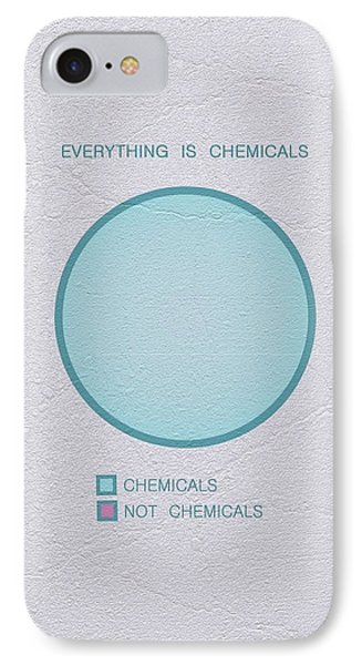 Everything Is Chemicals IPhone Case by Ivana Westin