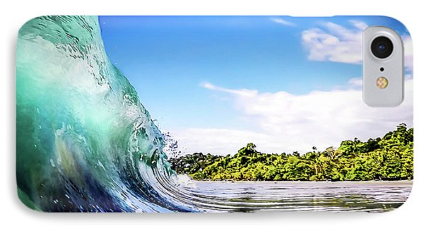 Tropical Wave IPhone Case by Nicklas Gustafsson