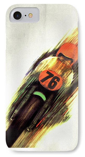 United States Grand Prix IPhone Case by Mark Rogan