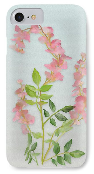 Pink Tiny Flowers IPhone Case by Ivana Westin