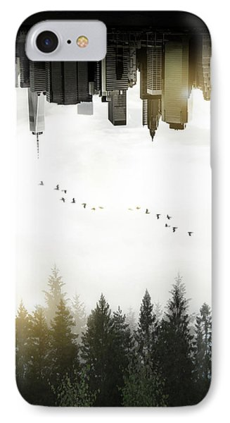 Duality IPhone 7 Case by Nicklas Gustafsson