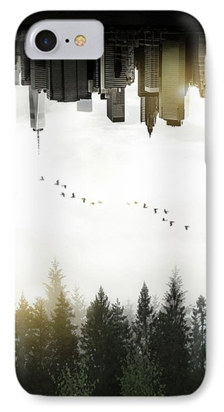 Duality IPhone Case by Nicklas Gustafsson