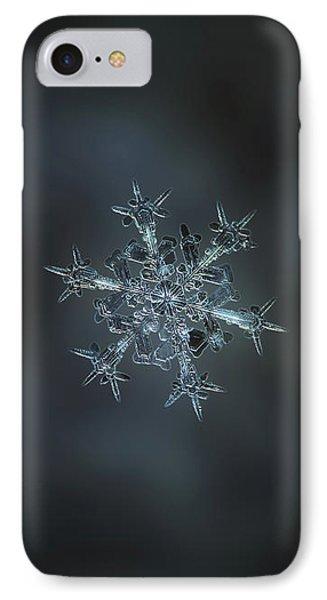 Snowflake Photo - Starlight II IPhone Case