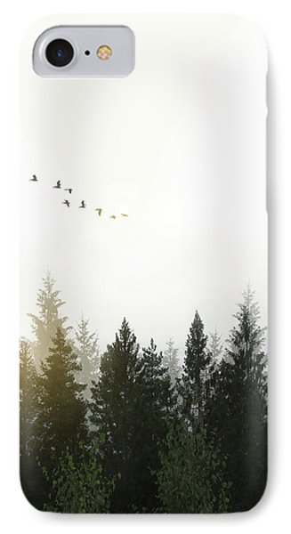 Dawn iPhone 7 Case - Forest by Nicklas Gustafsson