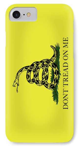 Gadsden Dont Tread On Me Flag Authentic Version IPhone Case