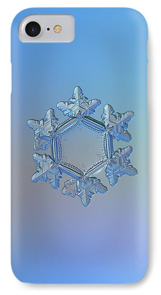 Snowflake Photo - Sunflower IPhone Case by Alexey Kljatov