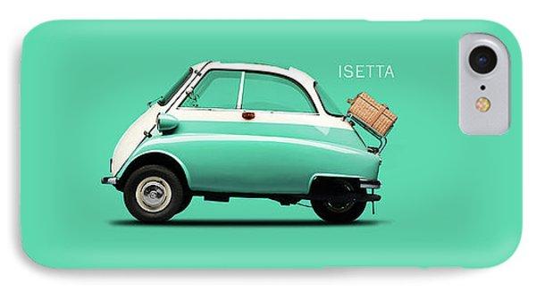 The Isetta 300 Blue IPhone Case