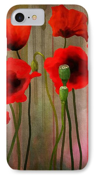 Poppies  IPhone Case by Ivana Westin