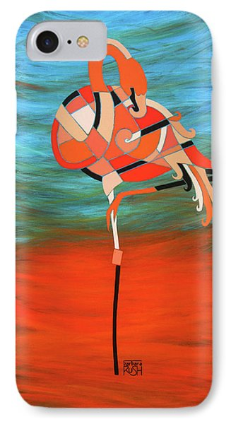An Elegant Flamingo IPhone Case