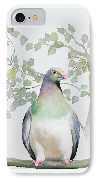 Wood Pigeon IPhone Case by Ivana Westin
