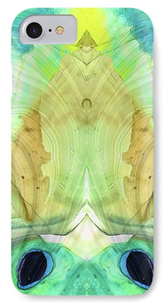 Abstract Art - Calm - Sharon Cummings IPhone Case