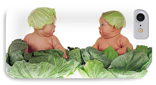 Cabbage Kids IPhone Case