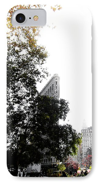 IPhone Case featuring the photograph Flatiron Autumn  by Nicklas Gustafsson
