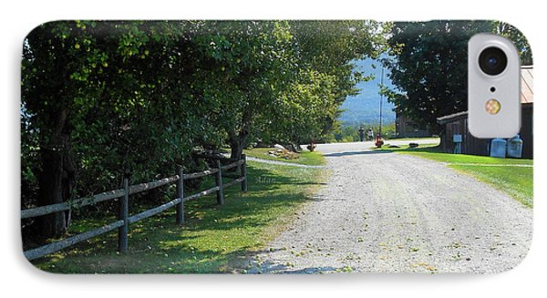 Trapp Family Lodge Rustic Road IPhone Case by Felipe Adan Lerma
