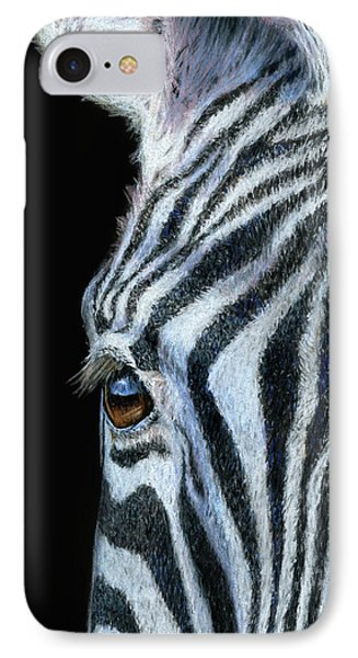 Zebra Detail IPhone Case