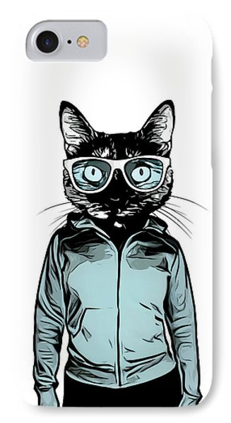 Cool Cat Phone Case by Nicklas Gustafsson