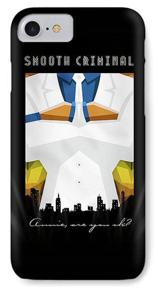 Smooth Criminal IPhone Case by Atelier Seneca