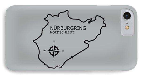The Nurburgring IPhone Case